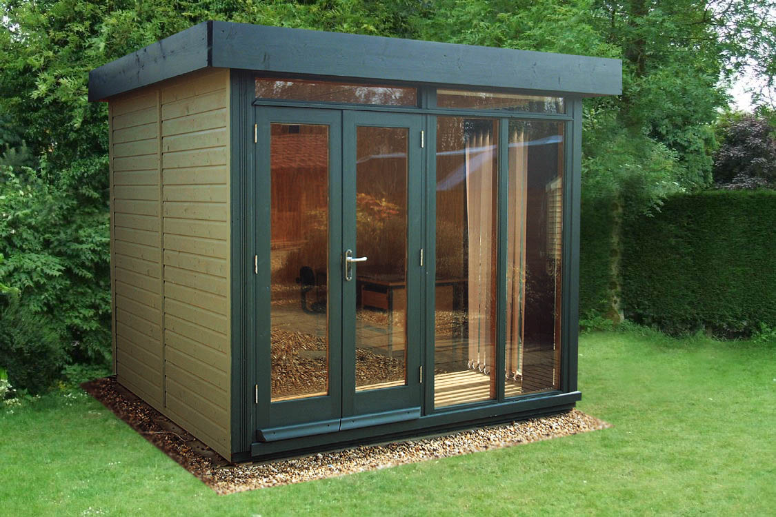 Summerhouses on pinterest 20 pins for Garden office ideas uk