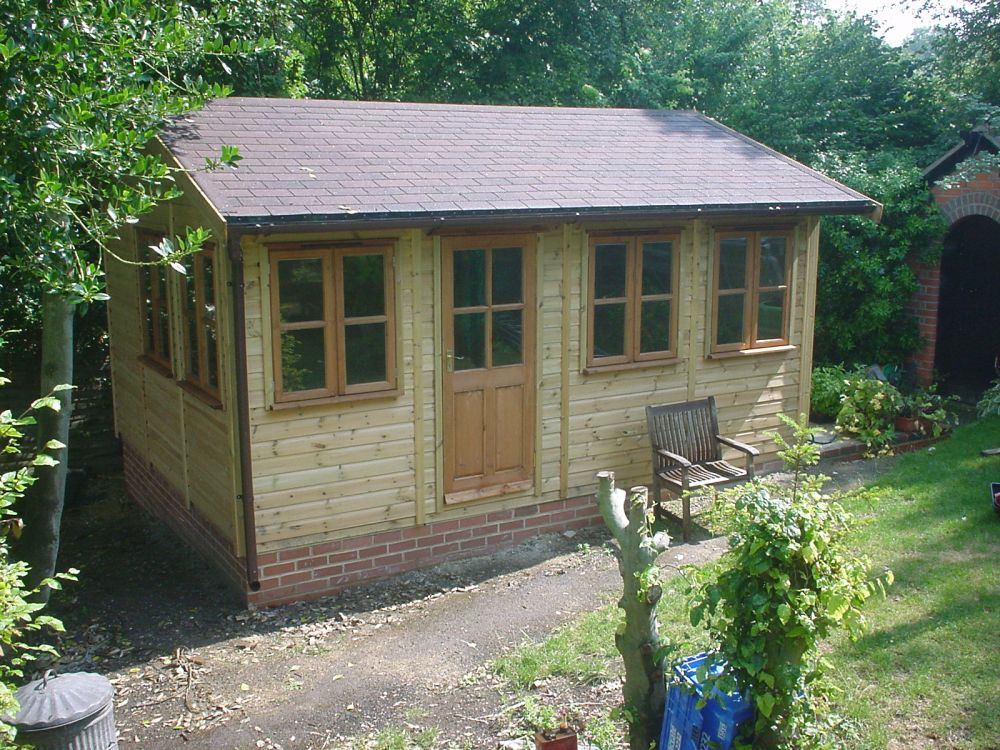 Warwick offices traditional garden office for Garden office wales