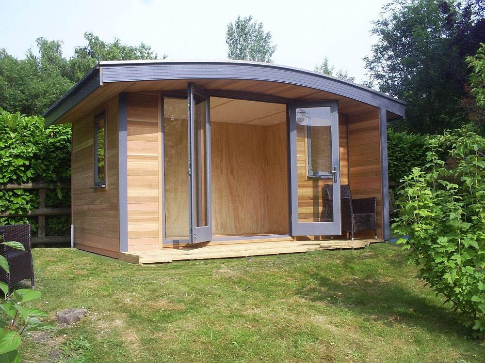 Warwick offices warwick garden office garden rooms for Garden gym room uk