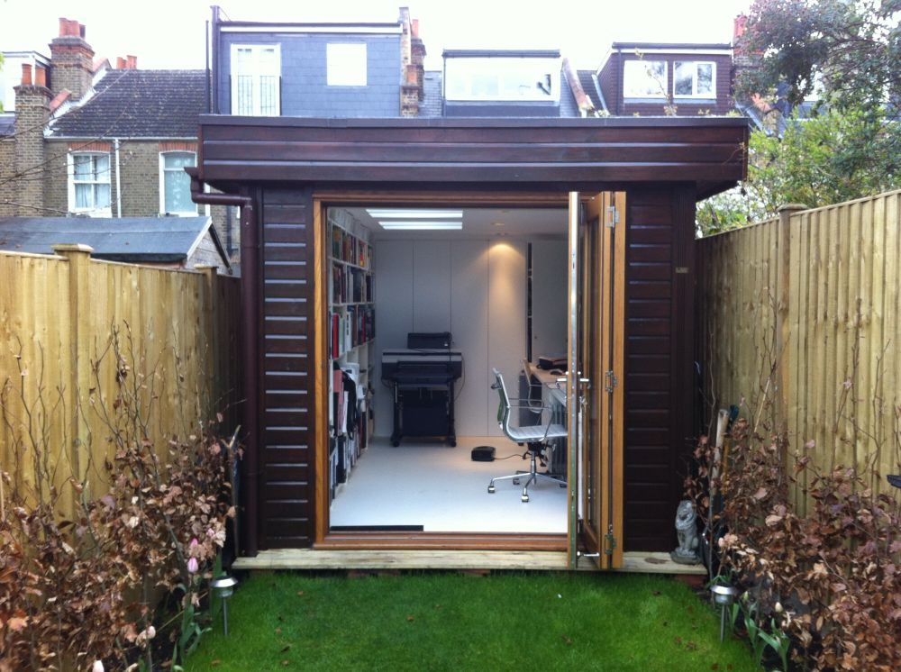 Warwick offices warwick garden office garden rooms for Building a home office in backyard