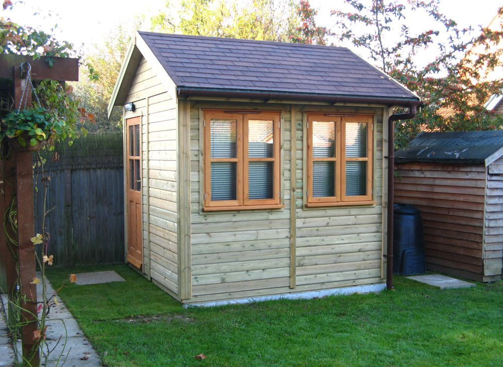Warwick offices warwick garden offices uk garden shed for Garden office and shed