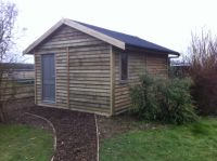 Another view of the Feather Edge Garden Office