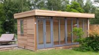5m x 3.6m Contemporary Office clad in Cedar