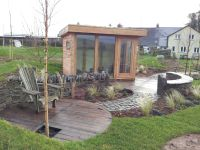 Feather Edge clad Garden Office