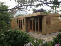 Garden Office and Garage combined