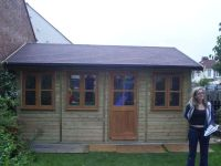 16 x 8 Traditional Garden Office