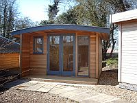 Curved Roof Insulated Garden Office/Room