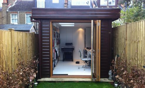 Garden offices and insulated garden rooms manufacturer for Modern garden rooms london